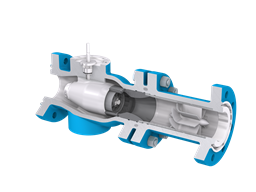 mokveld-axial typhoon valve-part open